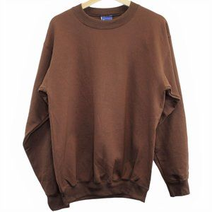 N33 Vintage 90s Champion Crewneck Brown Sweatshirt